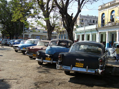 old cars, central habana